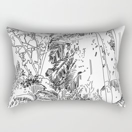 Arecaceae Rectangular Pillow