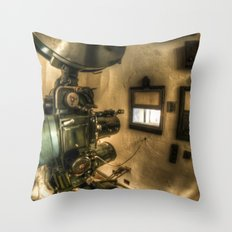 The projector  Throw Pillow