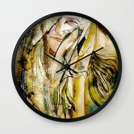 Golden Collar Wall Clock