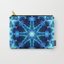 Crystal Light Mandala Carry-All Pouch