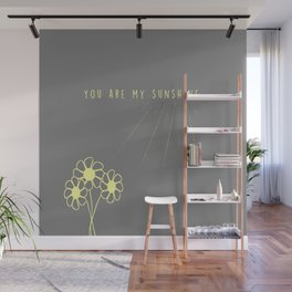 For my daughter: our sunshine. Wall Mural