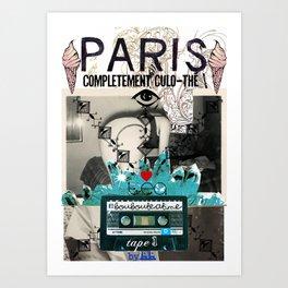 Paris Culo-thé Art Print