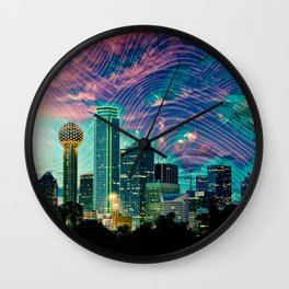 Dallas Wall Clock