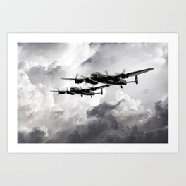 Once in a Lanc Time Art Print