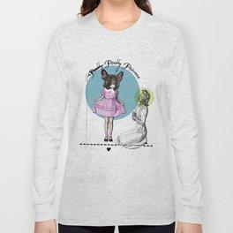 Pretty Chauncey Princess - French Bulldog Long Sleeve T-shirt
