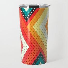 Decorative rhombs Travel Mug