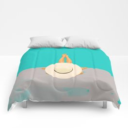 At The Beach Comforters