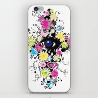 chelsea iPhone & iPod Skins featuring Chelsea by AURA-HYSTERICA