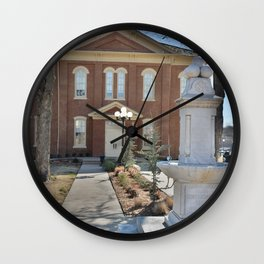 Cherokee Nation - Capitol in Tahlequah, No. 2 of 3 Wall Clock