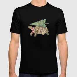 Christmas tortoise T-shirt