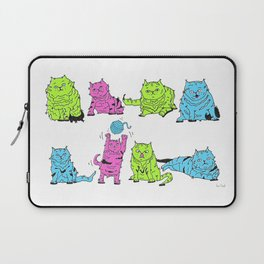 Fluro Cats Laptop Sleeve