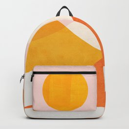 Abstraction_Mountains_Minimalism_001 Backpack