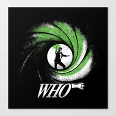 The Name's Who Canvas Print