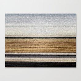 black horizon Canvas Print