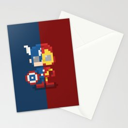 Civil Pixel War Stationery Cards