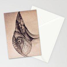 Steampunk BlackBird Stationery Cards
