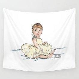 Baby Ballerina Wall Tapestry