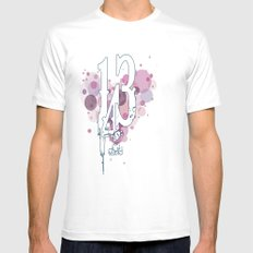 143 Mens Fitted Tee MEDIUM White
