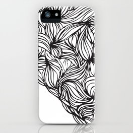 Hairy Heart  iPhone Case