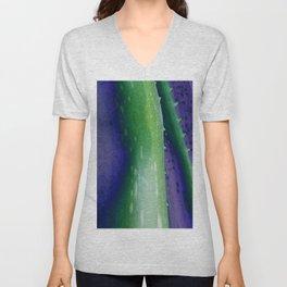 Aloe Vera Abstract Unisex V-Neck