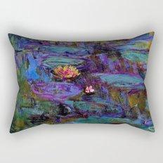 Water Lilies by Claude Monet Rectangular Pillow