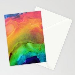 Muddy Rainbow Stationery Cards