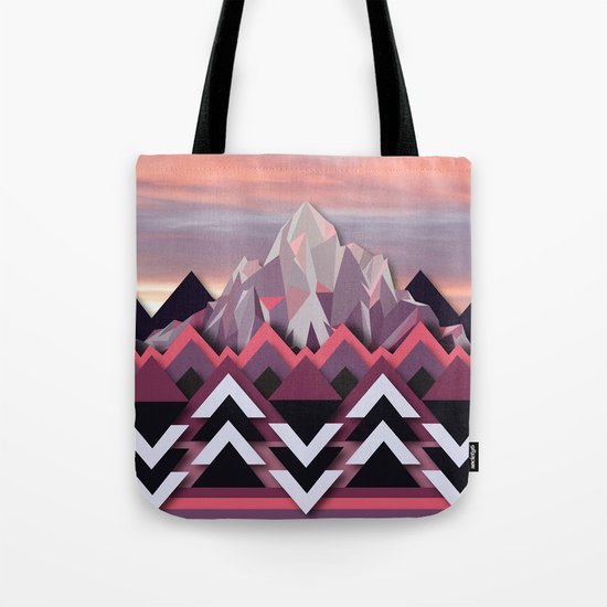 Night Mountains No. 8 Tote Bag