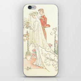 Victorian Vintage Wedding Design iPhone Skin