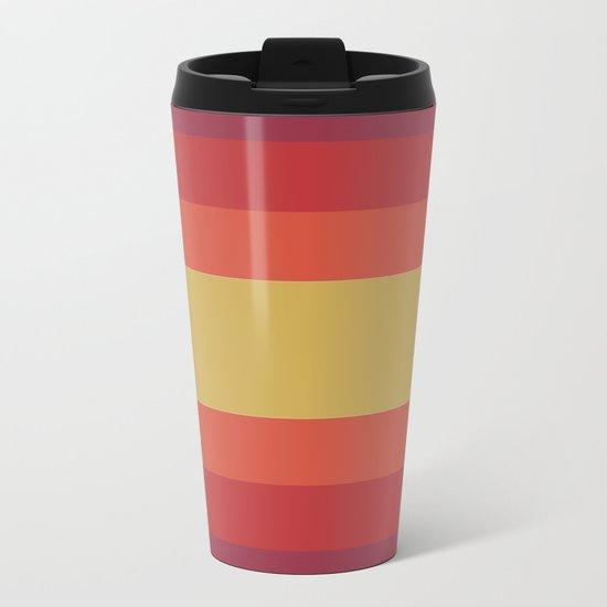 Retro 70's Metal Travel Mug