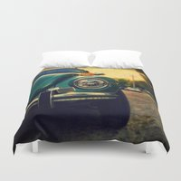 beetle Duvet Covers featuring Beetle by Melissa Lund