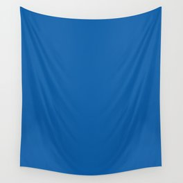 Walmart blue (1962–1964) - solid color Wall Tapestry