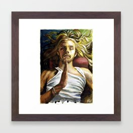 Peace of Mind Comes from within Framed Art Print