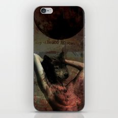 Wolf Nude for Drew iPhone & iPod Skin