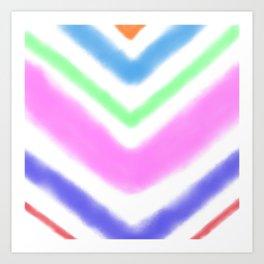 Stripes for days Art Print