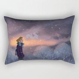 Ten Thousand Snowflakes Rectangular Pillow
