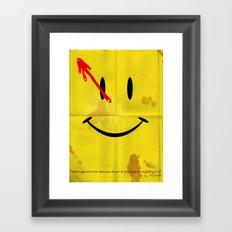 The Comedian Framed Art Print