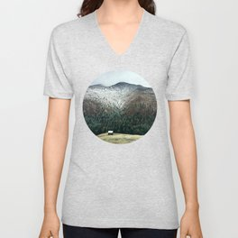 Cabin in the woods Unisex V-Neck