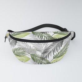Palm tree leaf Fanny Pack