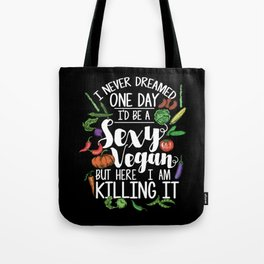 Sexy Vegan Tote Bag