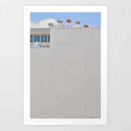 Red High Art Print