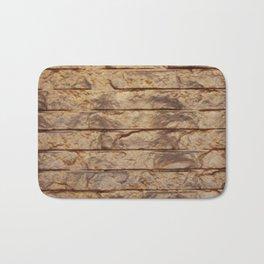 Gold Bars Bath Mat