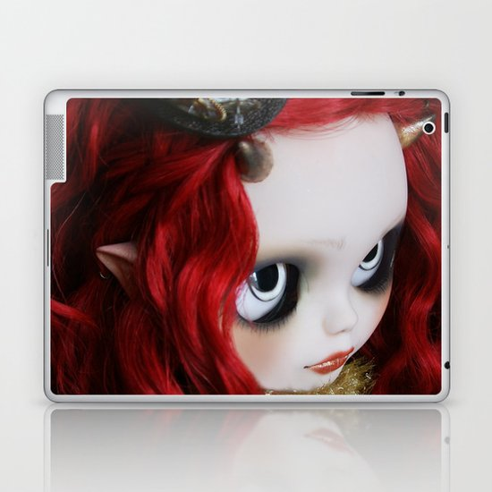 STEAMPUNK (Ooak  BLYTHE Doll) Laptop & iPad Skin