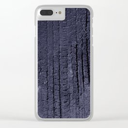 tire tracks are fun! Clear iPhone Case