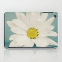 daisy iPad Cases featuring DAISY  by Laura Ruth