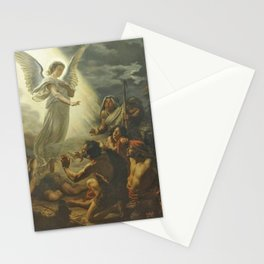 Édouard Joseph Dantan - Annunciation to the shepherds Stationery Cards