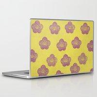sakura Laptop & iPad Skins featuring Sakura by sinonelineman