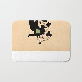 Utah - State Papercut Print Bath Mat