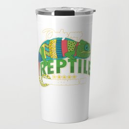 Only My Reptile Understands Me Pets Reptilia Herpetology Reptilian Cold Blooded Animal Gift Travel Mug