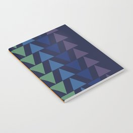 Day and Night Rainbow Triangles Notebook