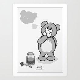 Critter Alliance - Teddy Day Trip Art Print